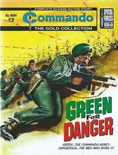 GREEN FOR DANGER,COMMANDO THE GOLD COLLECTION,NO.4684,WAR COMIC,2014