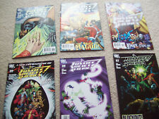 6 x justice society of america comics issues 27 28 29 30 31 32 dc comics