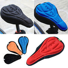 Cycling Bicycle Mountain 3D Silicone Gel Pad Seat Saddle Cover Soft Cushion JG