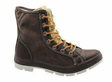 Converse CT Outsider Hi Mens Unisex Leather Boots Chocolate Brown 125664C WH