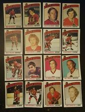 1976-77 OPC CHICAGO BLACK HAWKS Select from LIST NHL HOCKEY CARDS O-PEE-CHEE