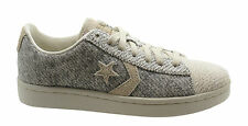 Converse Pro Leather Ox Mens Trainers Low Shoes Grey Lace Up 141766C D35