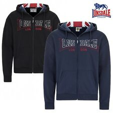 Lonsdale Zip Hoody Wallingford Men'S Knit Jacket Hoodie Pullover Boxing S - 3XL