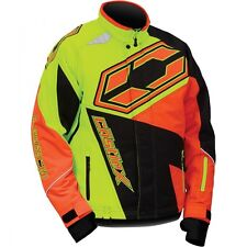 Castle X Youth Boys G4 Launch Jacket Hi-Vis/Orange sizes S-XL