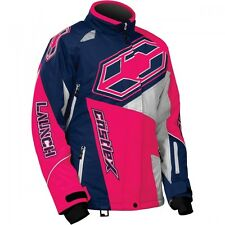 Castle X Youth Girls G4 Launch SE Jacket Navy/Hot Pink sizes S-XL