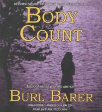 Body Count by Burl Barer Compact Disc Book (English)