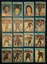 1979-80 OPC WINNIPEG JETS Select from LIST NHL HOCKEY CARDS O-PEE-CHEE