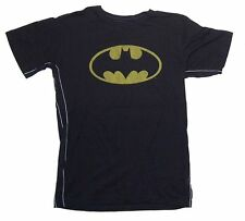 DC Comics Trunk LTD Batman Bat Logo Kids Youth Black T Shirt NEW Signal Classic