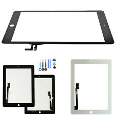 Touch Screen Glass Digitizer Lens Replacement For iPad 2 iPad3/4 iPad 5 +Tools