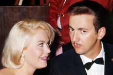 Bobby Darin 24X36 Poster Candid With Sandra Dee At Hollywood Event