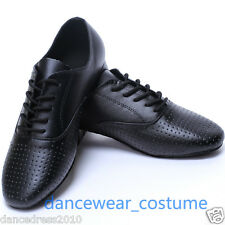 New Men Party Ballroom Latin Tango Modern Salsa Competition Practice Dance Shoes