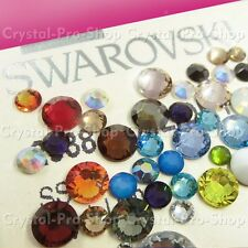 ss30 Genuine Swarovski ( NO Hotfix ) Crystal FLATBACK Rhinestone 30ss 6.5mm set5