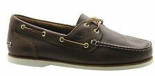 Timberland Classic Amherst 2 Eye Womens Boat Shoes Brown Leather 72331 D119