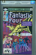 FANTASTIC FOUR #241  CGC 9.8  White Pages