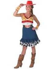 Ladies Toy Story Sassy Jessie Cowgirl Movie Outfit Fancy Dress Costume