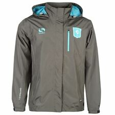 Sondico Mens FC Twente Match Rain Jacket Everyday Football Hooded Full Zip