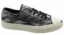 Converse Jack Purcell JP Ltt OX Grey Leather Mens Low Trainers Lace 139801C D29