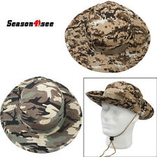 2 Colors Tactical Hunting Fishing Outdoor Boonie Hat Military Army Bucket Hats