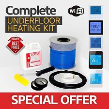 Electric underfloor heating loose cable kit 3.3-4.2m2