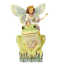 Jim Shore HAVE YOU KISSED A FROG TODAY Stone Resin Fairies 4014980