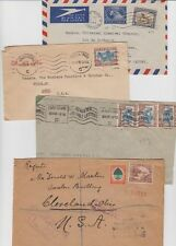 oldhal-South Africa/Lot of 4 very nice Covers/1930s-40s
