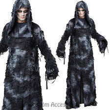 CA103 Deluxe Ghoul Ghost Costume Halloween Scary Evil Spirit Robe Reaper Robe