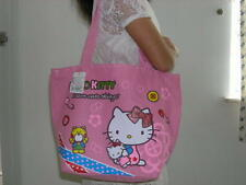 QQ B60 HELLO KITTY TOTE SHOPPING SHOULDER HAND BAG HANDBAG - PINK