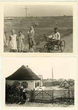 Lot de 5 Photos Ukraine Snapshot Vers 1940/50