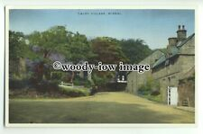 tp9319 - Cheshire - Cottages & Unmade Road of Caldy Village, Wirral - postcard