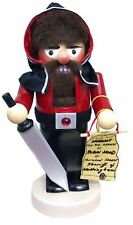 Steinbach SIGNED Chubby Sheriff of Nottingham German Christmas Nutcracker New