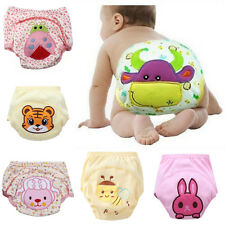 Animals Print Baby Kids Toilet Pee Potty Training Pants Cloth Diaper Underwears
