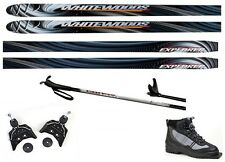 NEW EXPLORER XC cross country 75mm SKIS/BINDINGS/BOOTS/POLES PACKAGE - 190cm