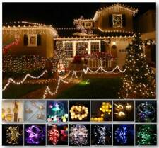 2M-100M LED Battery Powered Flexible Fairy String Lights Party Xmas Decor