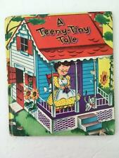 A Teeny Tiny Tale Book Vintage 1955 Tell a Tales Whitman Childrens Book