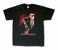 American Psycho Movie Poster Image Mens Black T Shirt New Official Horror Film