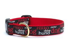 Any Size - Up Country - MADE IN USA - Design Dog Puppy Collar - Dogs