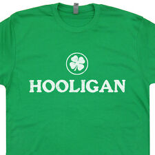 Hooligan T Shirt Irish Ireland Rugby Soccer Football Fighting Boston Celtics Tee