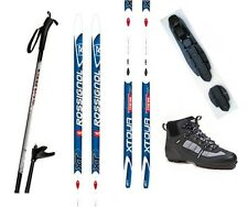 NEW ROSSIGNOL XC cross country NNN SKIS/BINDINGS/BOOTS/POLES PACKAGE - 200cm