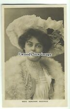 b3211 - Stage Actress - Miss Adrienne Augarde - postcard