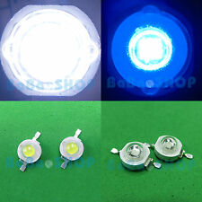 3W Cold White 10000K + 3W Royal Blue 455nm High Power LED Light Plant Aquarium