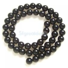 4mm /6mm / 8mm Black Onyx Round loose Beads Gemstone 1 Strand For Jewelry Making