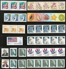 Nice Lot of f/vf USA stamps - MNH - Coil strips, singles - CLEAN