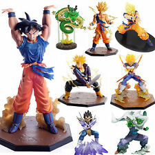 Lot Dragon Ball Z Figure Toys Super Saiyan Son Goku Anime Manga Figurine Dolls