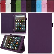"New PU Leather Case Folio Cover Stand For Amazon Kindle Fire HD 8 8"" 2016 Tablet"