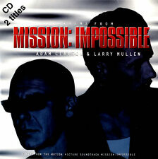 """Larry Mullen & Adam ... CD single (CD5 / 5"""") Theme From Mission Impossible UK"""