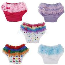 Cute 0-2 Years Baby Infant Girl's Ruffle Bloomers Diaper Nappy Cover Panties