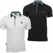 Mens Polo T-Shirt by Voi Jeans 'Ghost' Short Sleeved