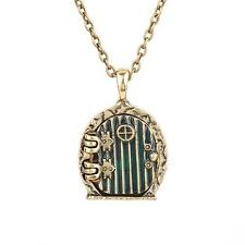 HOBBIT LORD OF THE RINGS FAIRY SHIRE DOOR LOCKET PENDANT NECKLACE