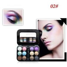 12Color Eye Shadow Palette With Makeup Brush Cosmetic Matte Shimmer Press Powder