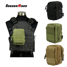 1000D Molle Tactical Multifunctional Sundries Bag Utility Pouch With Strap